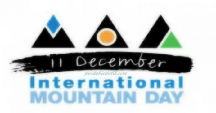 Happy International Mountain Day