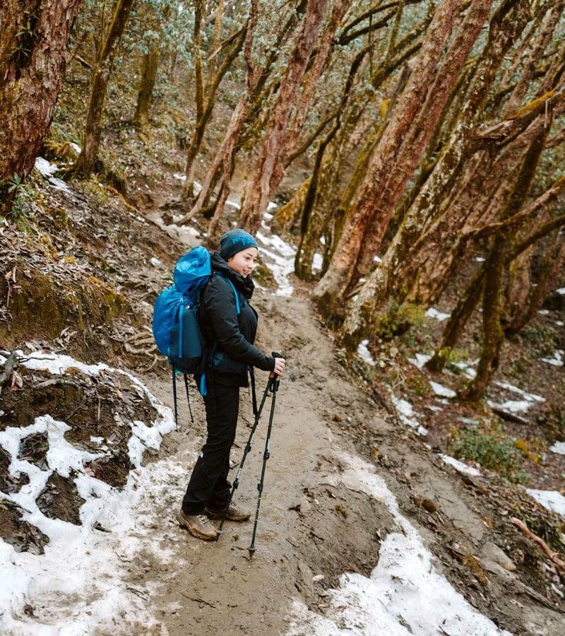 Pengalaman Seru Nikita Willy Mendaki Gunung Himalaya