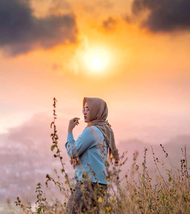Senja, Kamu dan Sepenggal Kisah Rindu