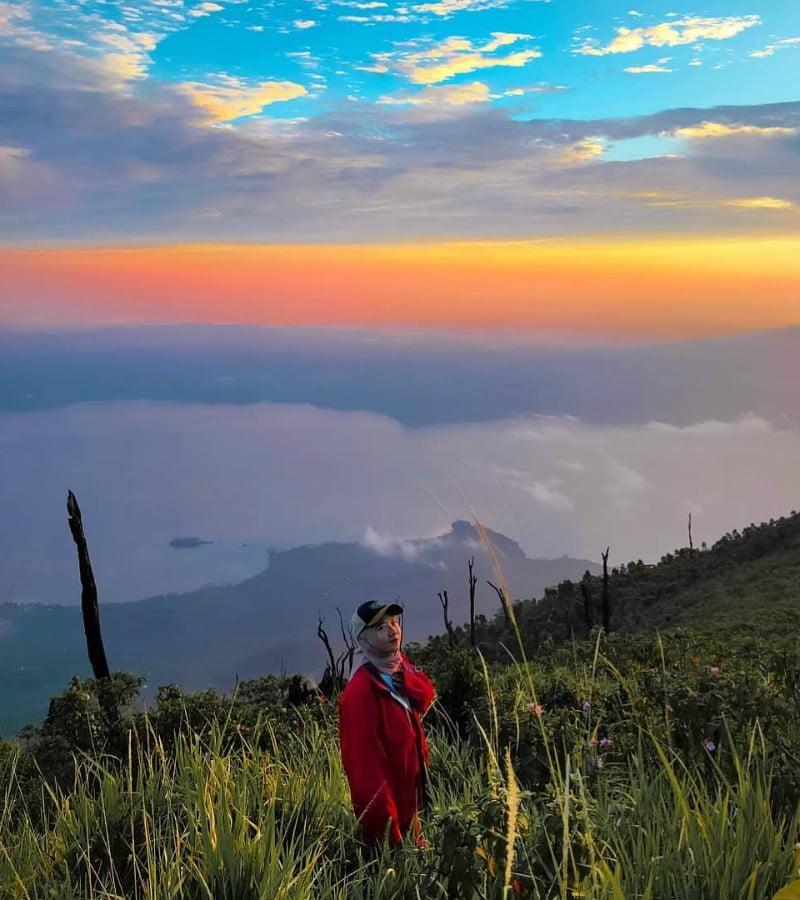 Mitos Tentang Danau Penuh Misteri di Puncak Gunung Rajabasa