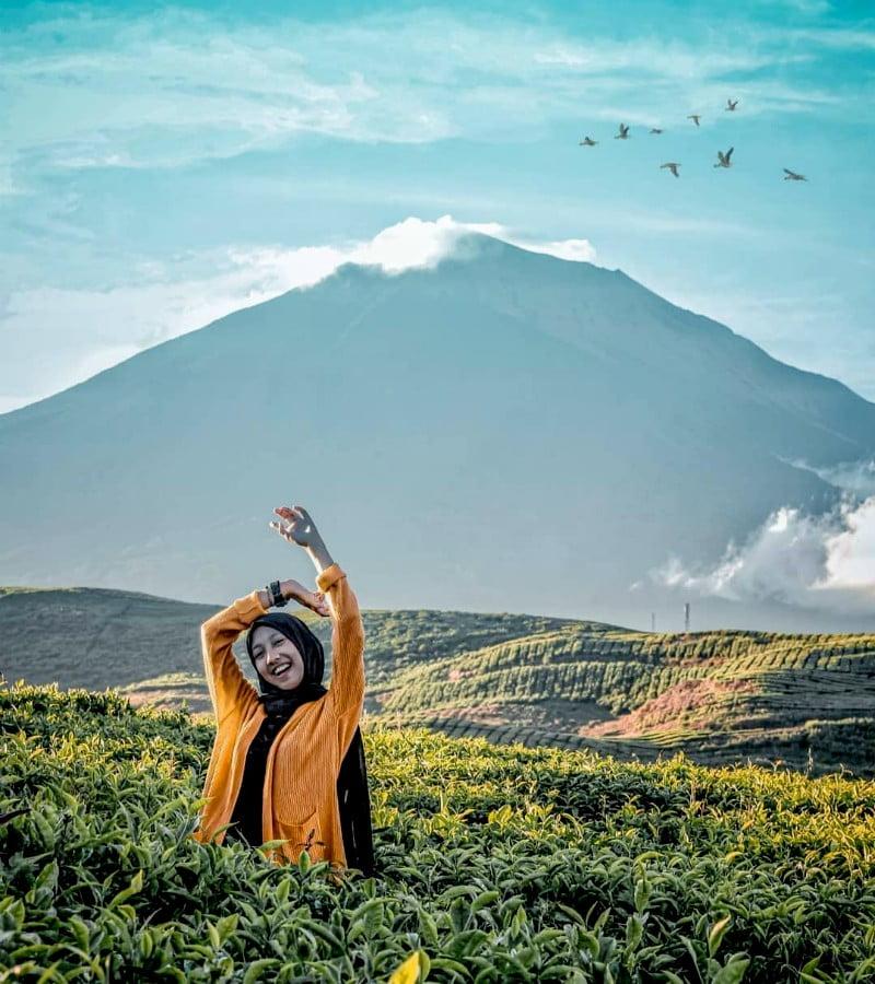 Kerinci, Gunung Tertinggi yang Disebut Puncak Sumatra