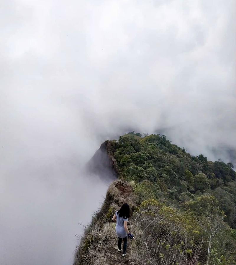 Jalur dan Estimasi Waktu Pendakian Gunung Kerenceng