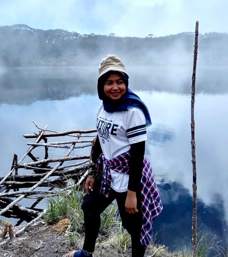 Telaga Dewi, Ranu Kumbolo yang Terletak di Gunung Singgalang