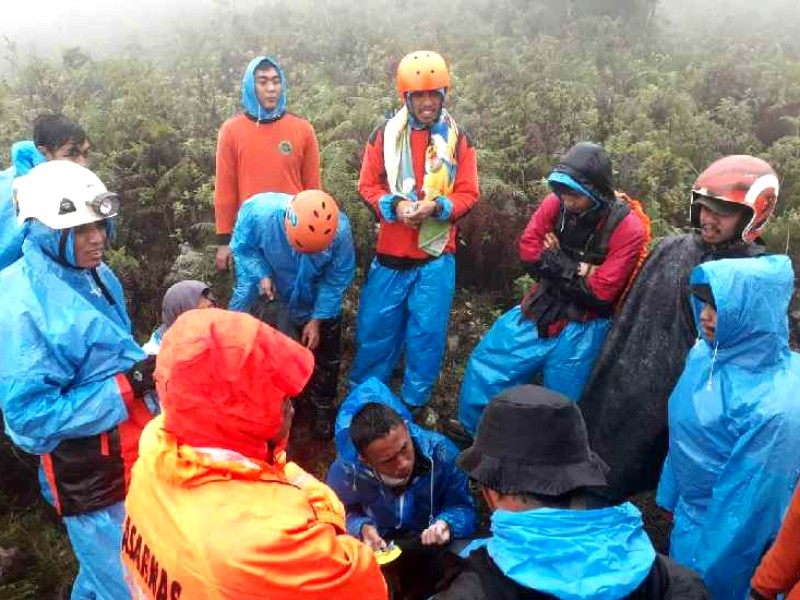 Tiga Pendaki Ditemukan Usai Dinyatakan Hilang di Bawakaraeng