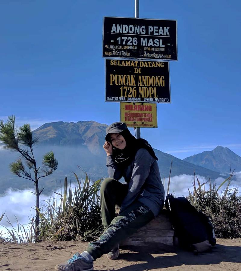 Tips Mendaki Gunung Andong Saat Hari Libur