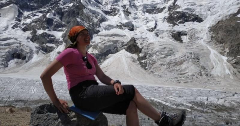 Dasha Maslova, Pendaki Cantik Rusia yang Suka Gunung di Indonesia