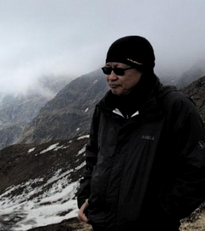 Alasan Rocky Gerung Lebih Suka Melakukan Pendakian Solo